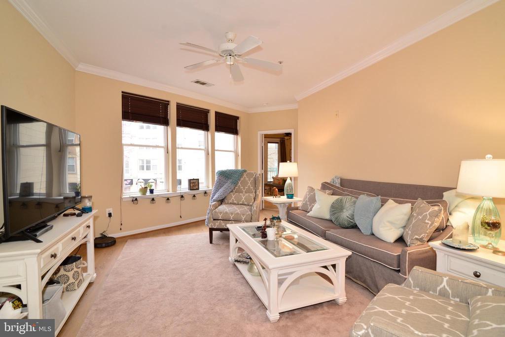 Lovely &  bright living room overlooking Market St - 12001 MARKET ST #214, RESTON