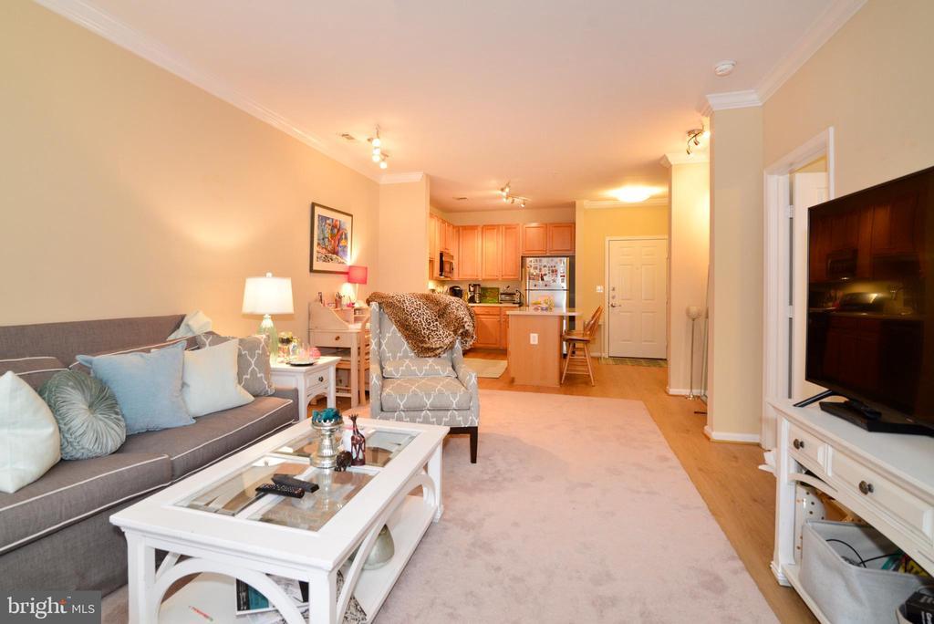 Warm colors for comfy/cozy living - 12001 MARKET ST #214, RESTON
