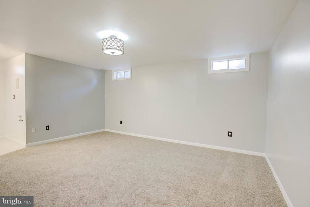 Family/rec room in basment! - 23 COOKSON DR, STAFFORD