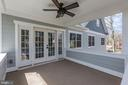 Private Deck off Master Bedroom - 6834 CHURCHILL RD, MCLEAN