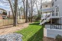 Rear Yard - 6834 CHURCHILL RD, MCLEAN