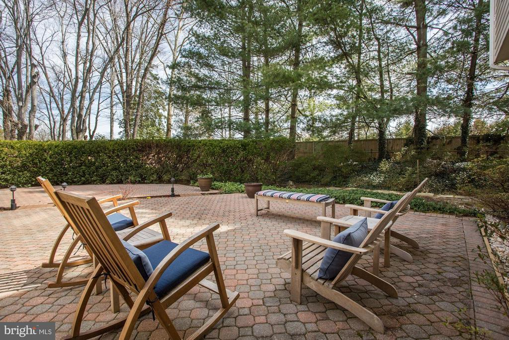 The perfect yard to entertain in private - 8201 SPRING HILL LN, MCLEAN