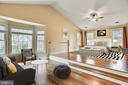 Master bedroom is huge with sitting area. - 3103 PINE OAKS WAY, OAK HILL