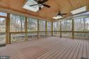 Terrific design on this screened porch. - 3103 PINE OAKS WAY, OAK HILL