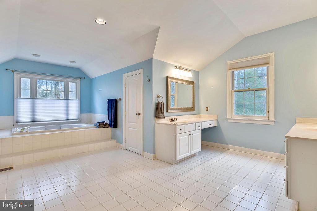 Soaking tub w/ separate shower. - 3103 PINE OAKS WAY, OAK HILL