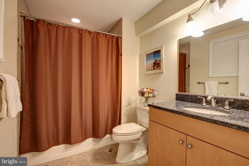 Lower Level Full Bath - 7612 EXETER RD, BETHESDA