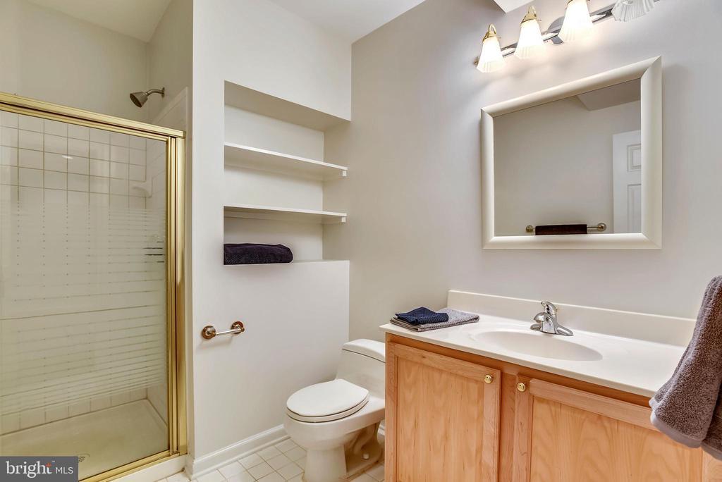 Full bath in lower level. 4 1/2 baths total! - 3103 PINE OAKS WAY, OAK HILL
