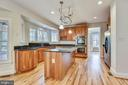 Hardwoods throughout the main and upper levels. - 3103 PINE OAKS WAY, OAK HILL