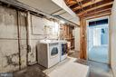 Utility Room with large storage - 4910 25TH ST N, ARLINGTON