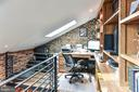 Historic Smoke House second floor SMART office - 217 S FAIRFAX ST, ALEXANDRIA
