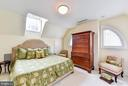 Guest Suite  bedroom - 217 S FAIRFAX ST, ALEXANDRIA