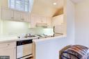 Guest suite kitchen - 217 S FAIRFAX ST, ALEXANDRIA
