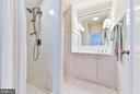 Guest suite bathroom - 217 S FAIRFAX ST, ALEXANDRIA