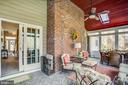 Features heater to allow use on cold evenings - 110 CARROLL CIR, FREDERICKSBURG
