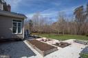 Private patio gardens w/ incredible views - 110 CARROLL CIR, FREDERICKSBURG