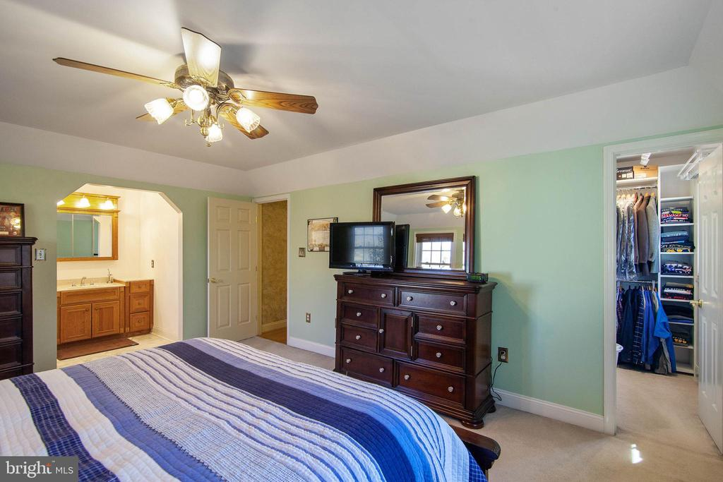 Owner's bedroom with access to bath - 6302 PANDA CT, WALDORF