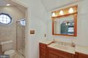Owner's bath with vaulted ceiling - 6302 PANDA CT, WALDORF