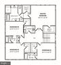 Second Level Floor Plan - 4610 N CARLIN SPRINGS RD, ARLINGTON