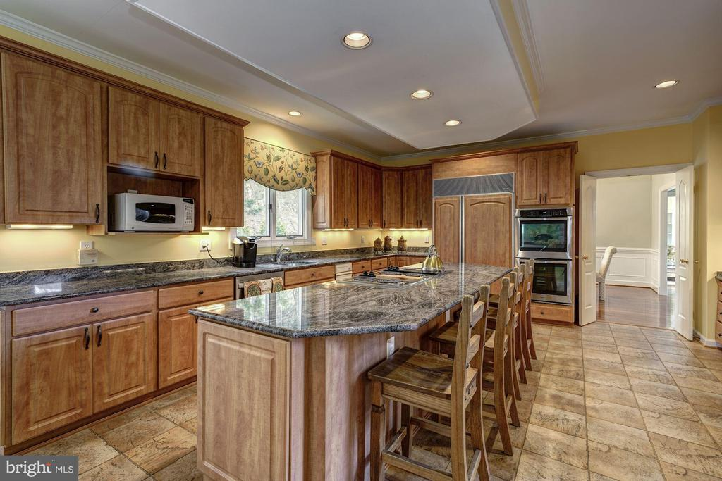 stainless appliances - 12 CLIMBING ROSE CT, ROCKVILLE