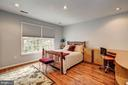 2nd bedroom with built in desk - 12 CLIMBING ROSE CT, ROCKVILLE