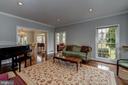 formal living room - 12 CLIMBING ROSE CT, ROCKVILLE