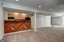 fully finished lower level - 12 CLIMBING ROSE CT, ROCKVILLE