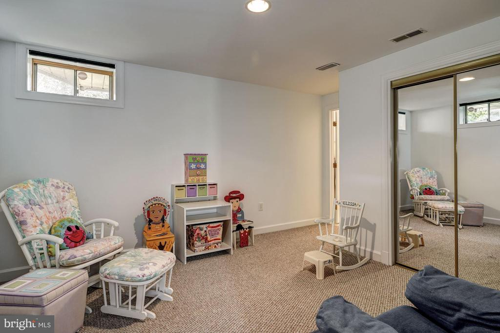 guest room/work out room/playroom - 12 CLIMBING ROSE CT, ROCKVILLE