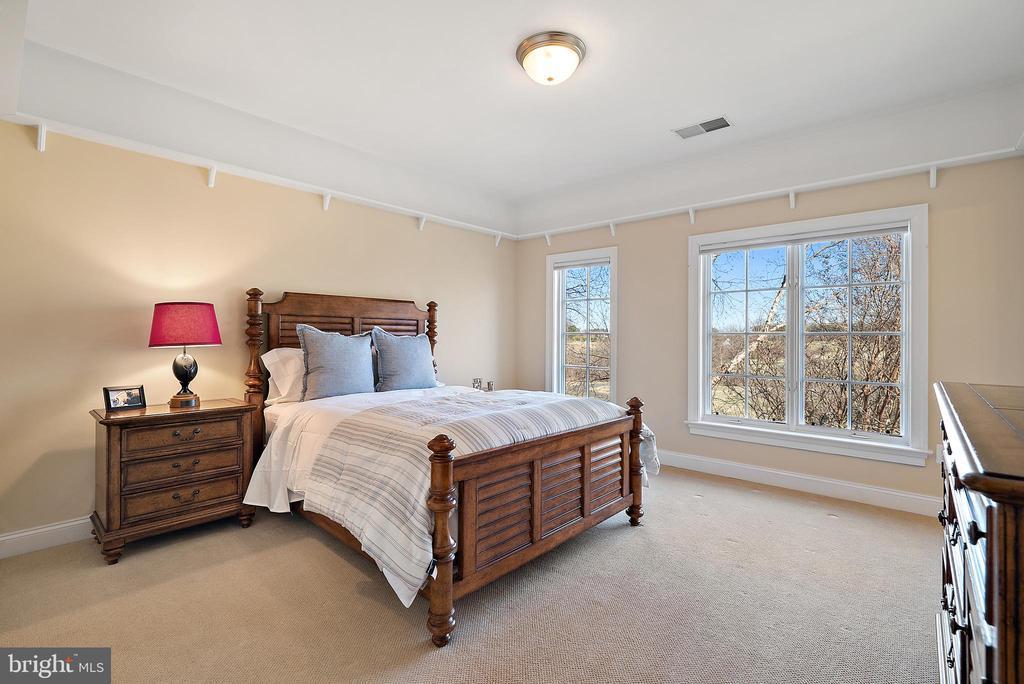 Bedroom #4 with en suite bath - 21051 ST LOUIS RD, MIDDLEBURG