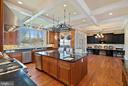 Kitchen leads to breakfast room - 21051 ST LOUIS RD, MIDDLEBURG