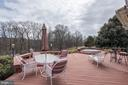 Deck views - Privacy and tranquility - 21960 OATLANDS RD, ALDIE