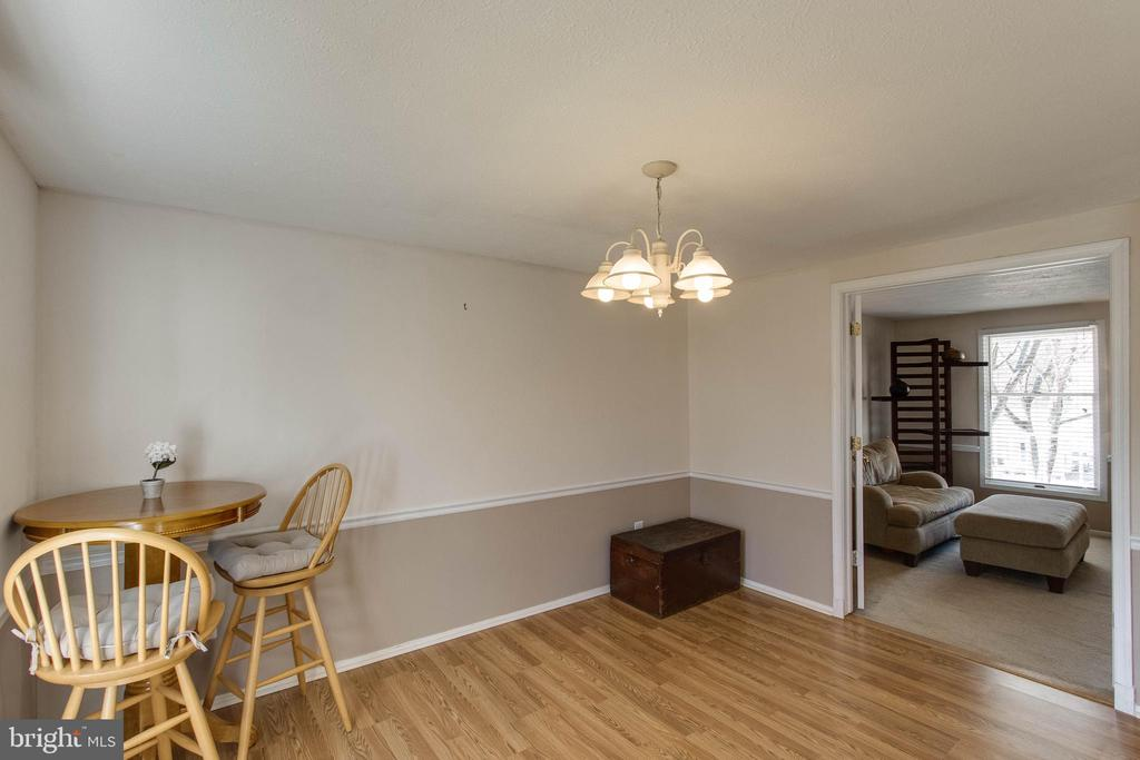 Spacious dining room - 218 FALLSWAY LN, STAFFORD