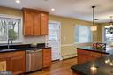 Recessed lighting, stainless steel appliances - 2307 BARBOUR RD, FALLS CHURCH