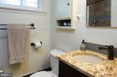 Remodeled hall bath - 2307 BARBOUR RD, FALLS CHURCH