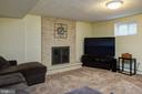 Fabulous family room - 2307 BARBOUR RD, FALLS CHURCH