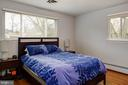 Bright & spacious master bedroom - 2307 BARBOUR RD, FALLS CHURCH