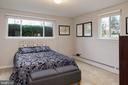 Bedroom #3 with - 2307 BARBOUR RD, FALLS CHURCH