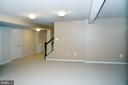 BASEMENT - 3704 RUSHWORTH ST, FREDERICK