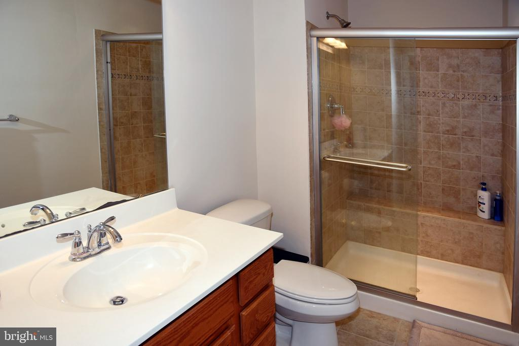 FULL BATH IN BASEMENT - 3704 RUSHWORTH ST, FREDERICK