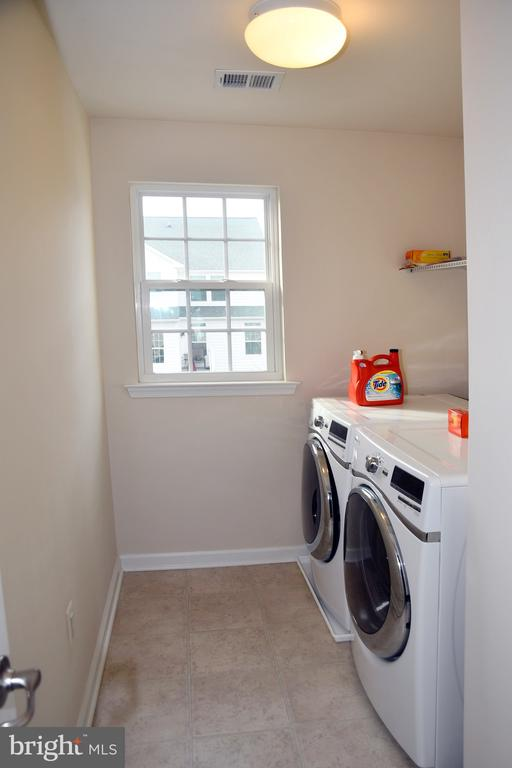LAUNDRY ROOM IN UPPER LEVEL - 3704 RUSHWORTH ST, FREDERICK