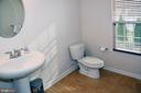 HALF BATH IN MAIN FLOOR - 3704 RUSHWORTH ST, FREDERICK