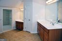 MASTER BATH - 3704 RUSHWORTH ST, FREDERICK