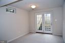 EXIT FROM BASEMENT - 3704 RUSHWORTH ST, FREDERICK