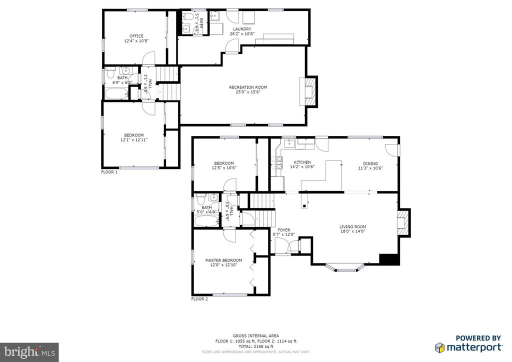 Floor plan - 2307 BARBOUR RD, FALLS CHURCH