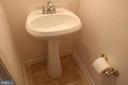 First level half bath - 434 TERRY CT #B3, FREDERICK