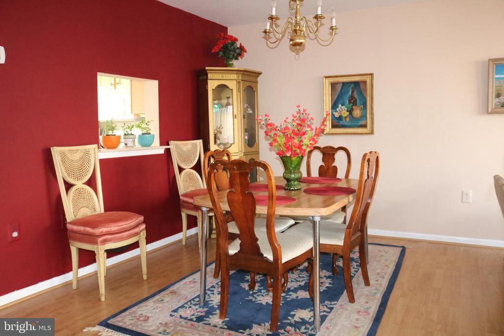 Separate dining area. - 434 TERRY CT #B3, FREDERICK