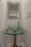 Renovated Half Bath on First Floor - 1408 CARROLLSBURG PL SW, WASHINGTON