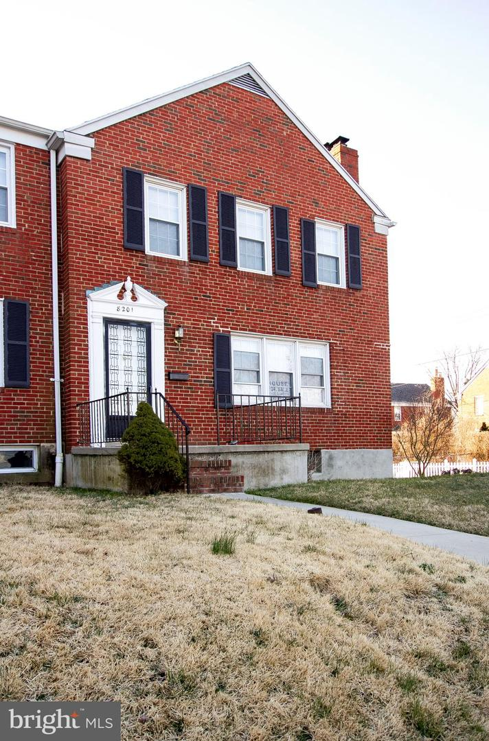 Photo of home for sale at 8201 La Salle Road, Baltimore MD