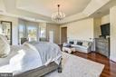 Master Bedroom   w/exit to Terrace - 9801 BEACH MILL RD, GREAT FALLS
