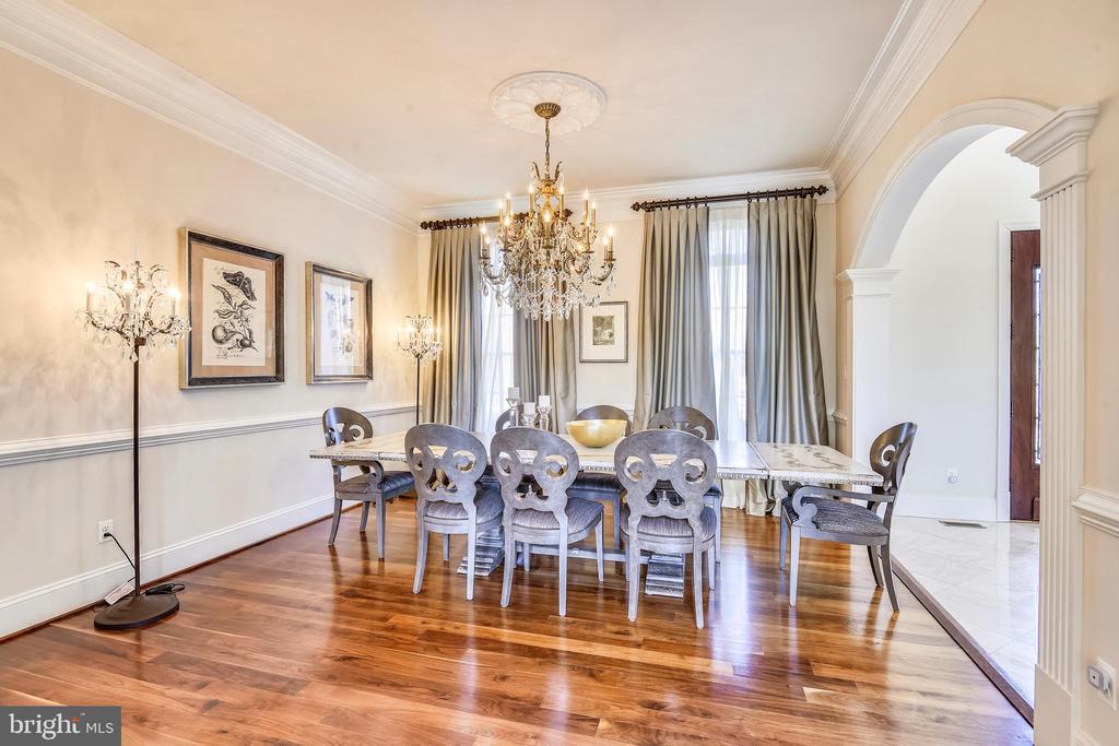 Dining Room - 9801 BEACH MILL RD, GREAT FALLS