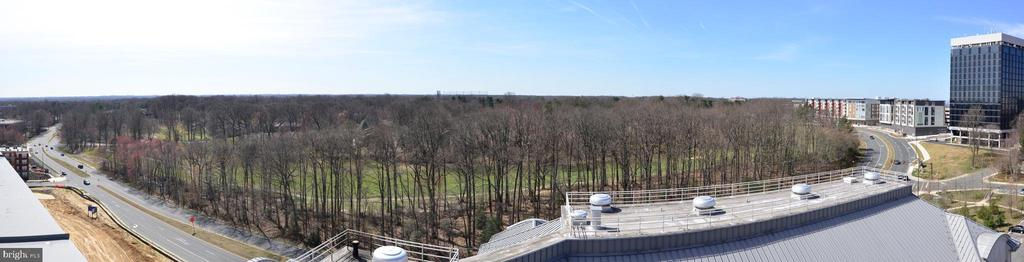 View from the patio - 11760 SUNRISE VALLEY DR #1014, RESTON